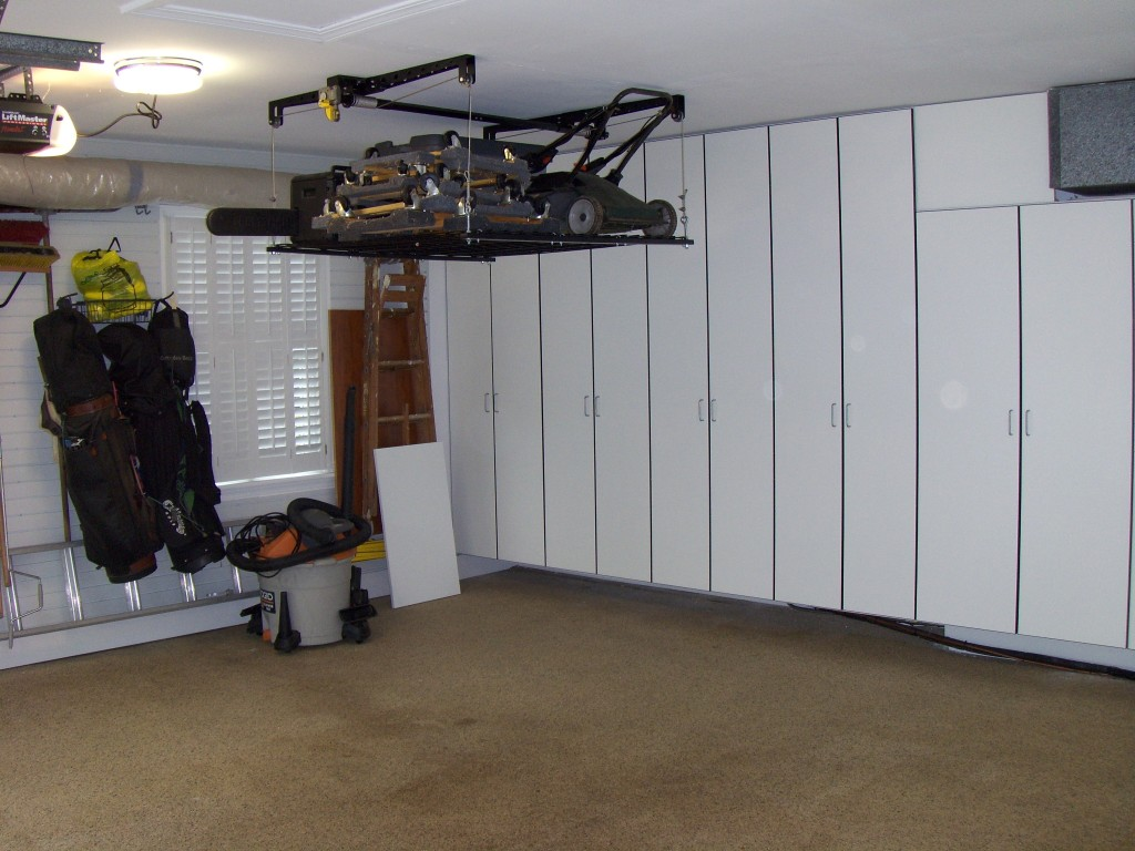 Retractable Ceiling Storage System