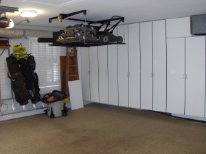 Retractable CeilingStorage System