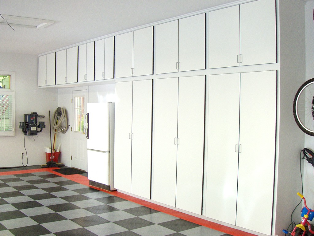 Custom Garage Cabinets Storage Solutions In St Louis - Cabinets in garage