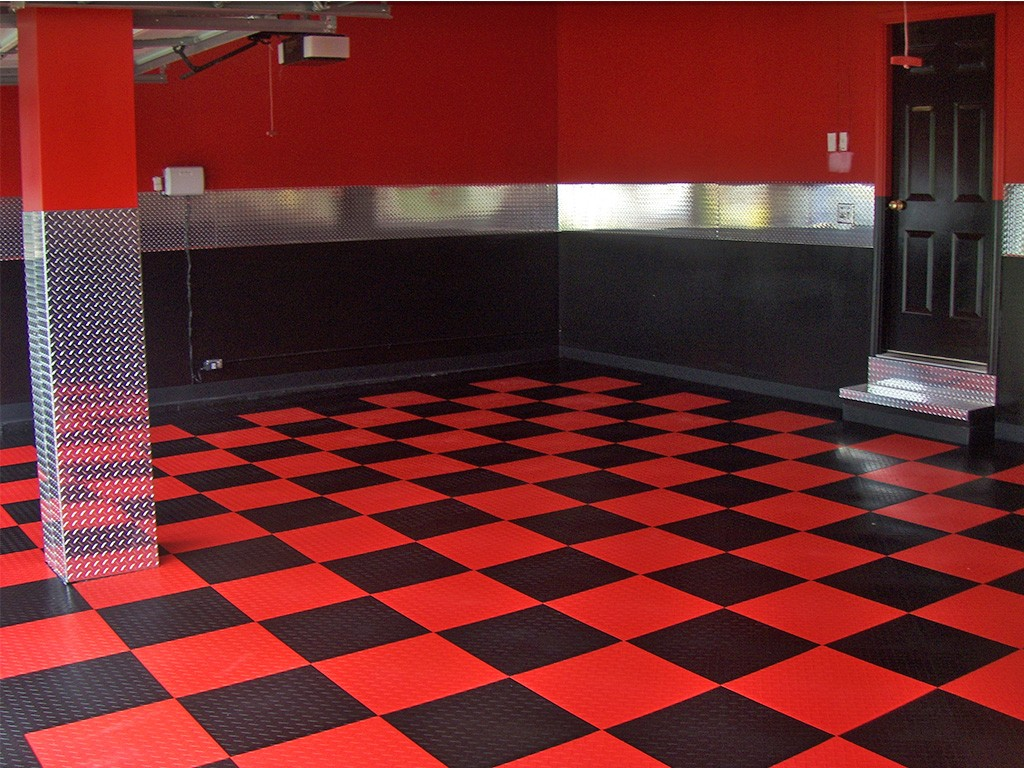 Garage flooring epoxy and racedeck flooring in st louis for Floor designs