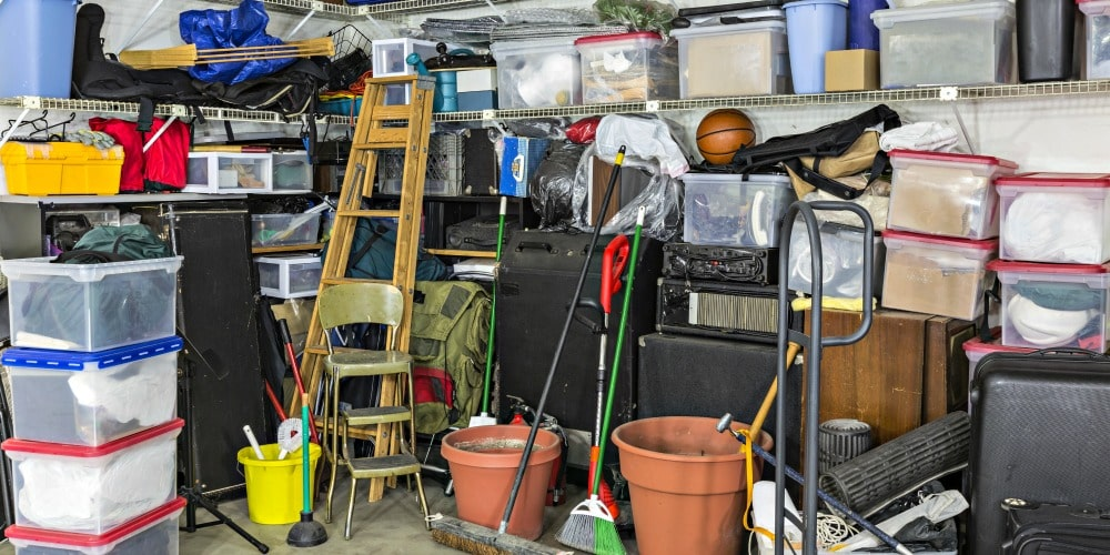 garage spring cleaning checklist