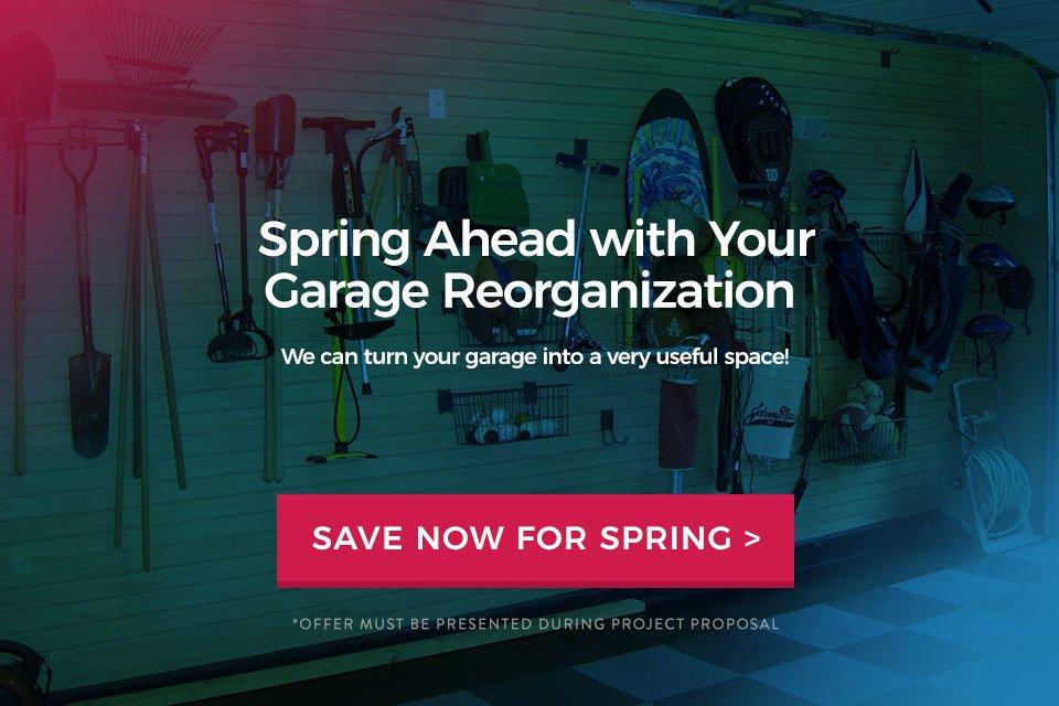 Spring Forward Sale by Garage Desiigns