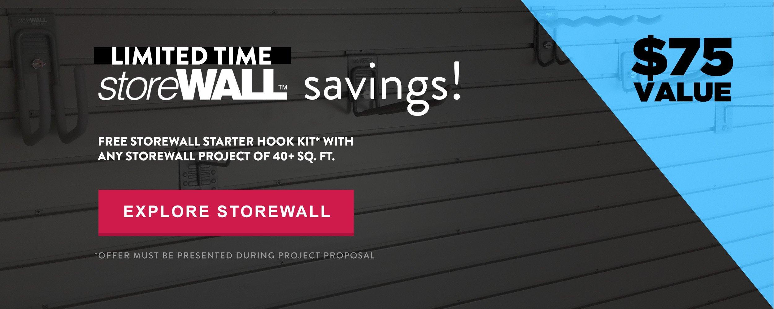 StoreWALL Savings