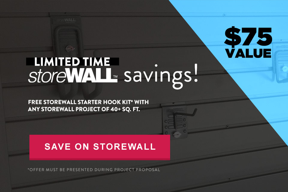 storeWALL Deal by Garage Designs