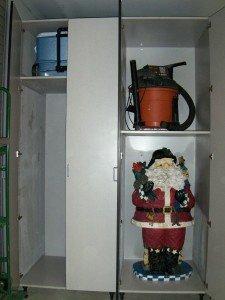 seasonal items organized