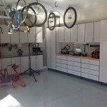 Garage Bike Shop Workbench offers lots of space.