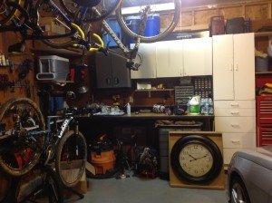 storing bicycles