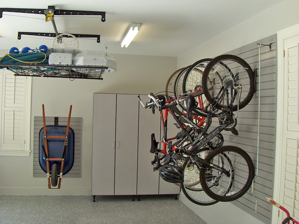 hanging racks- garage storage solutions