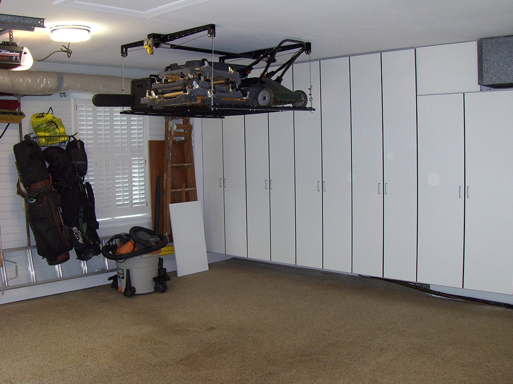 garage storage after shot 13