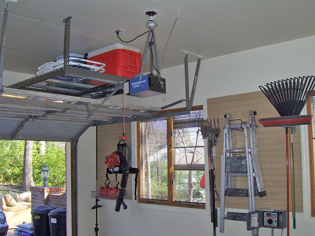 overheas shelving- garage storage solutions