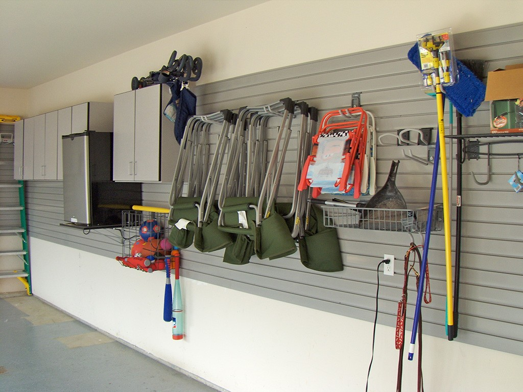 peg boards- garage storage solutions