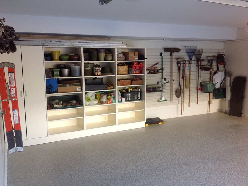 shelving- garage storage solutions
