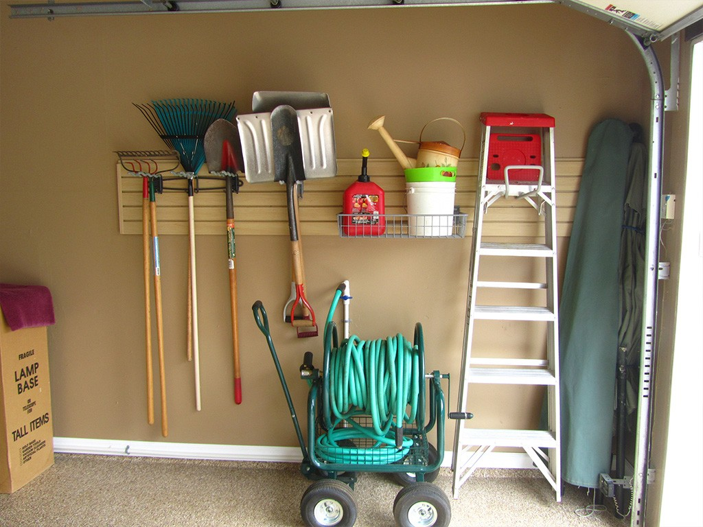 garage storage after shot 22