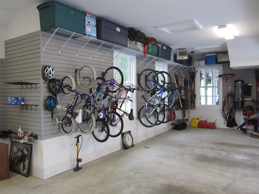 bike racks- garage storage solutions