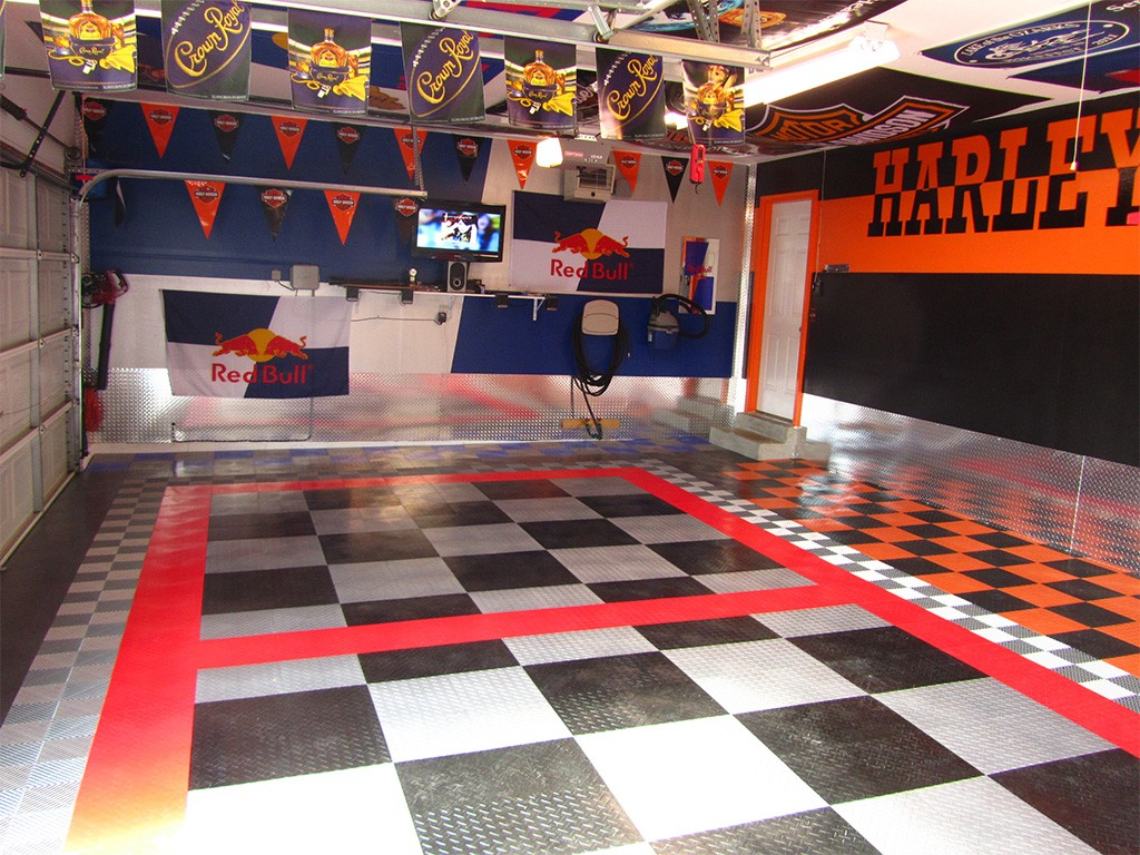 garage flooring epoxy and racedeck flooring in st louis. Black Bedroom Furniture Sets. Home Design Ideas