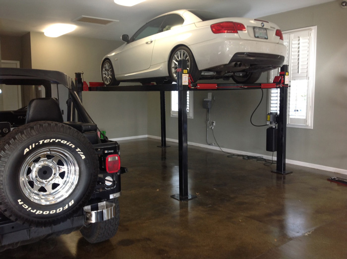 Car lifts for home garages by garage designs of st louis for Garage auto saint nazaire