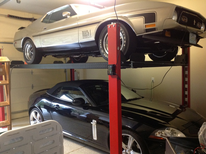 strong carlifts s d lifts for your car garage stylish