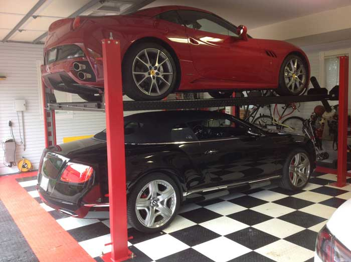 Home Car Lift : Car lifts for home garages by garage designs of st louis