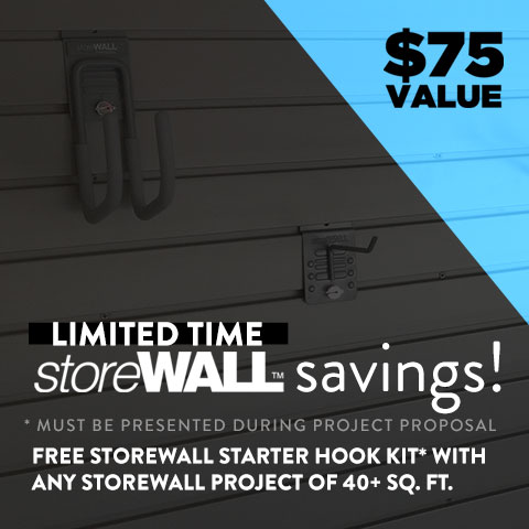storeWall Sale at Garage Designs