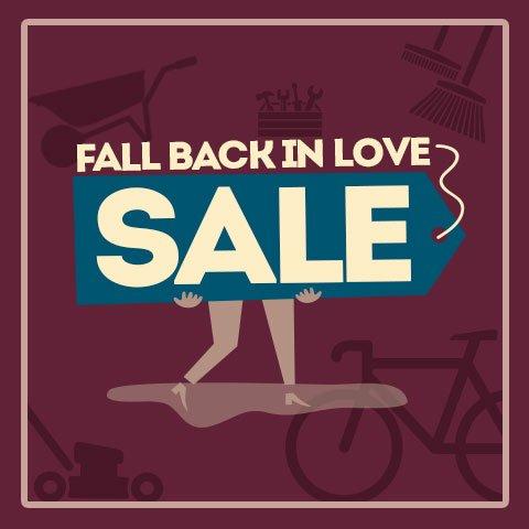 Fall Back In Love Sale - Exclusive Savings