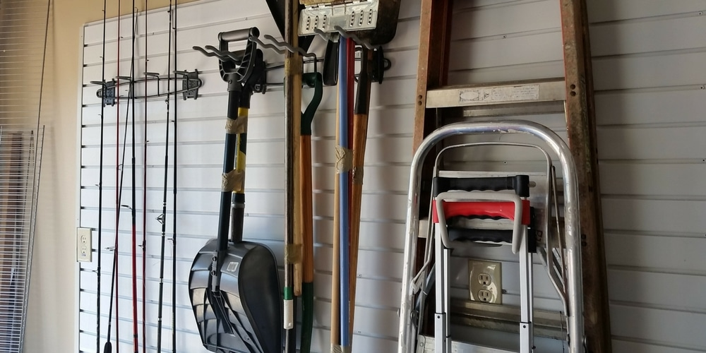 Slatwall can save your garage