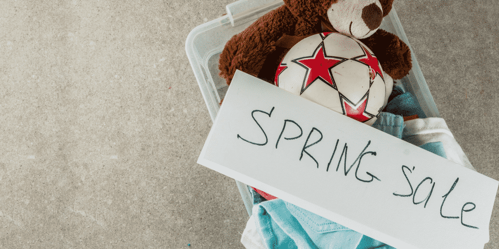 Spring Garage Sales Help You Organize Your Garage