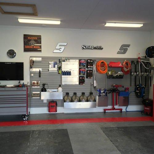 Race car garage archives for Garage designs com