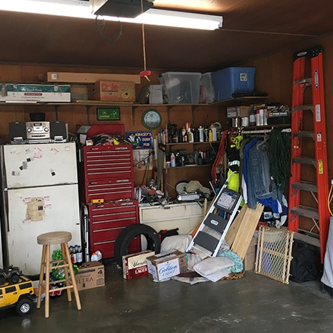 Garage Designs - Before 2