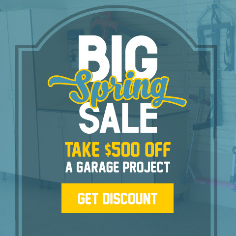 The Big Spring Sale - Take $500 Off a Garage Project
