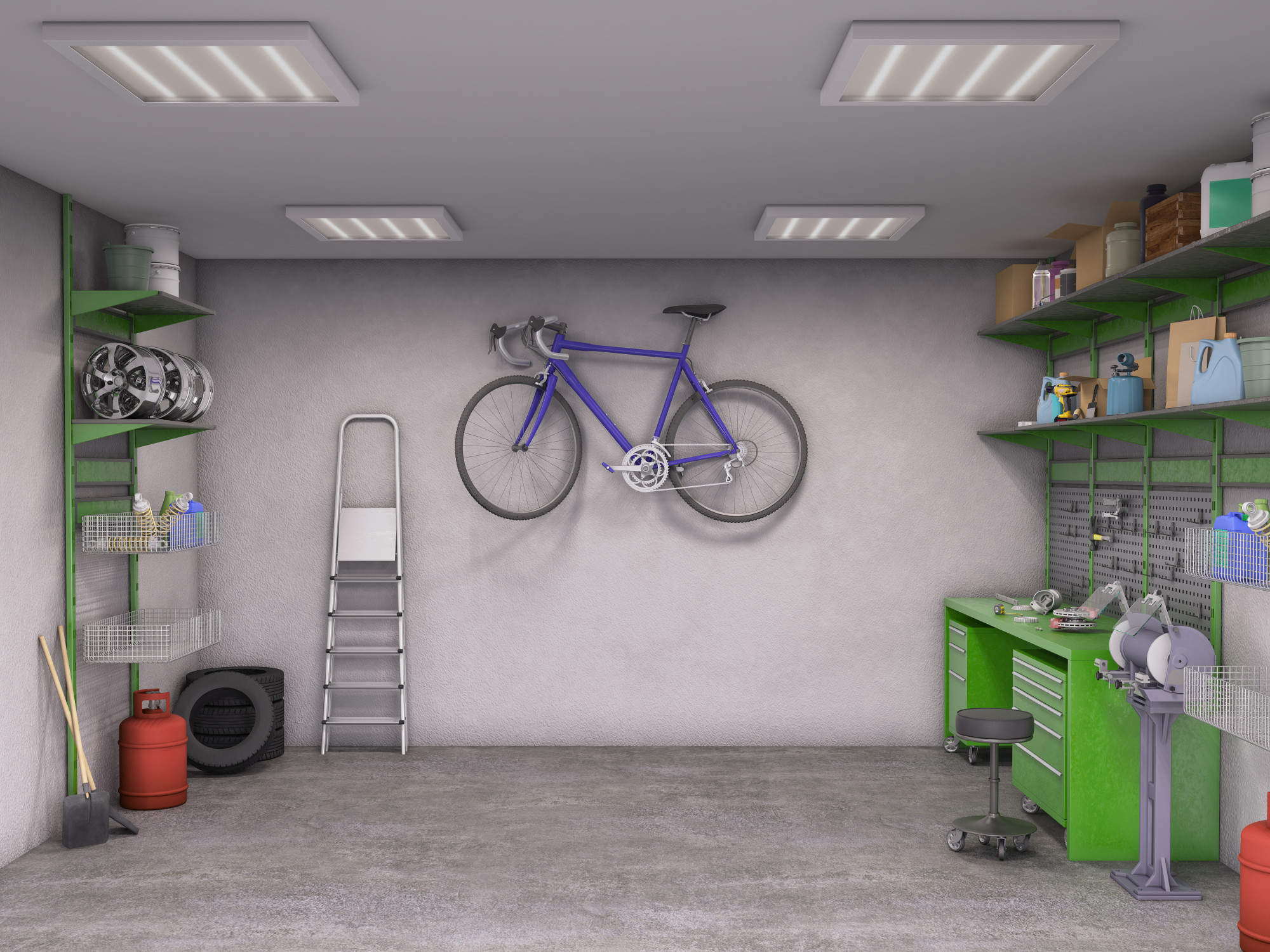15 Ways You Never Thought of to Organize Your Garage Space