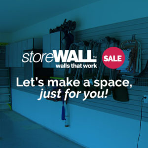 storeWALL™ Sale – Let's make a space, just for you!