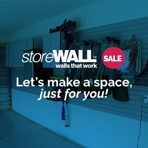 storeWALL Sale - from Garage Designs - Save Today!