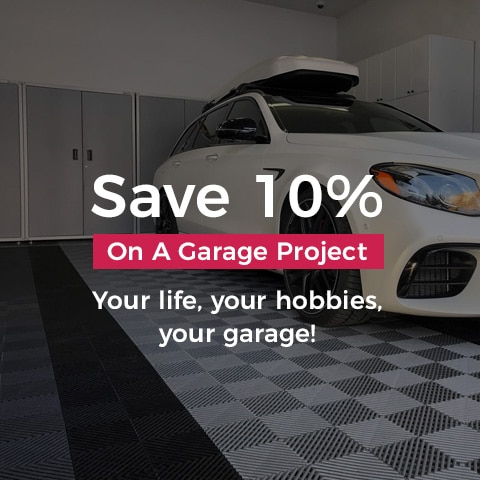 Save 10% On a Garage Project